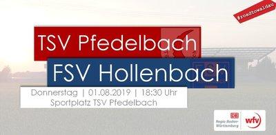 Pokalspiel Pfedelbach