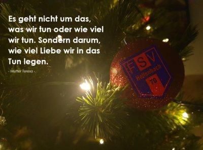 Weihnachten mit Zitat