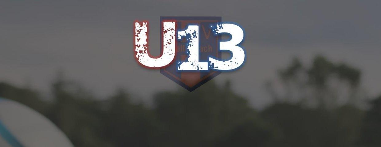 U13 gewinnt Nachholspiel