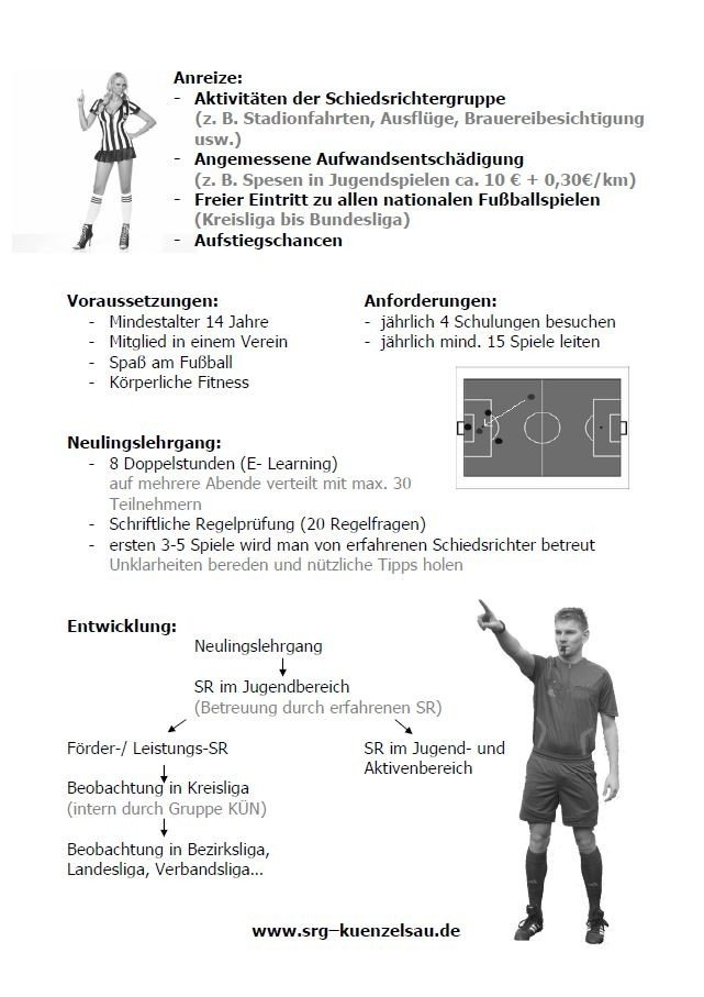 Schiedsrichter gesucht! - News - FSV Hollenbach - geomix Vereinshomepage