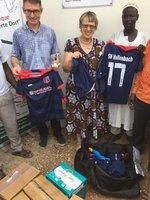Trikotspende für Togo